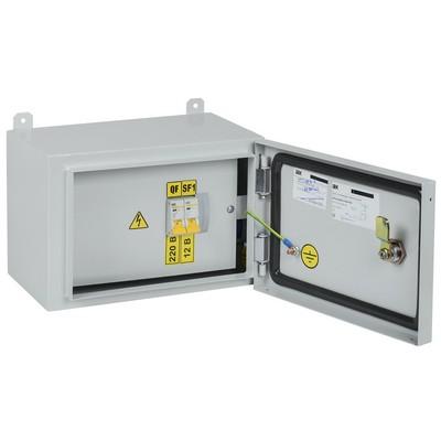 Ящик с понижающим трансформатором ИЭК, ЯТП-0,25 230/12-2 УХЛ2 IP54
