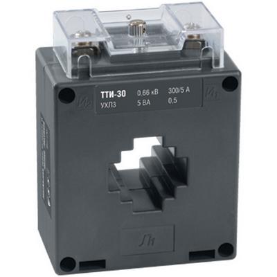 Трансформатор тока ИЭК ТТИ-30 300/5А 10ВА, класс точности 0,5