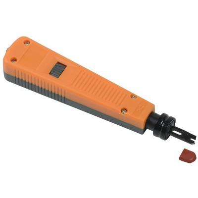 Инструмент ITK, ударный для IDC Krone /110 оранжевый-серый