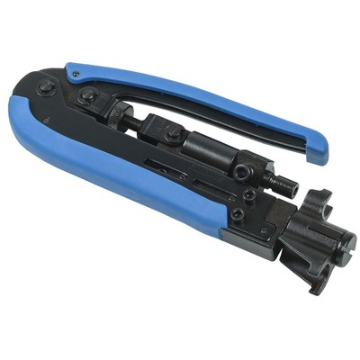 Инструмент ITK, обжим коннекторов F-типа на кабель коаксиальный