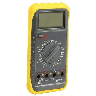Мультиметр цифровой Professional MY61 ИЭК