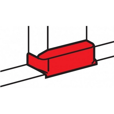 Legrand DLPlus Т-отвод для мини-плинтусов 20x12,5 белый