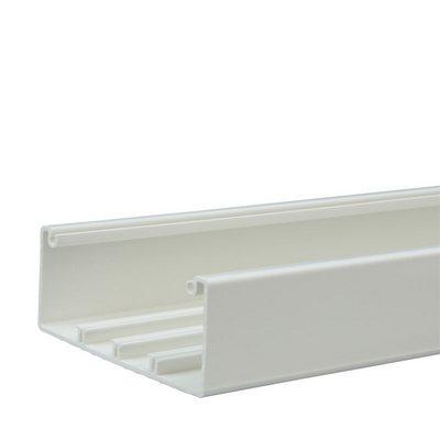 Кабель-канал Legrand DLP 35х80 2 м без крышки белый