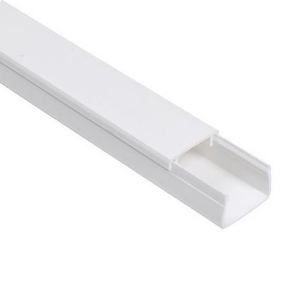 Кабель-канал ИЭК 10х7 ЭЛЕКОР белый (200 м/уп.)