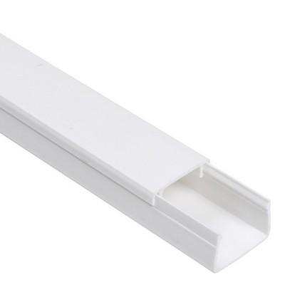 Кабель-канал ИЭК 12х12 ECOLINE белый (120 м/уп.)