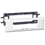 Суппорт Legrand Mosaic для кабель-каналов с шириной крышки 65 мм - 6 модулей белый