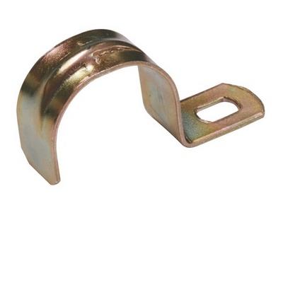 Скоба металлическая однолапковая d10-11мм ИЭК
