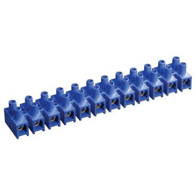 Зажим винтовой ЗВИ-3 н/г 1,0-2,5 мм2, 12пар, ИЭК синие