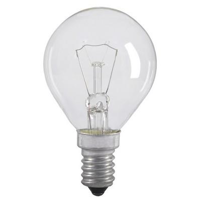 Лампа накаливания G45 40Вт E14 шар прозрачный ИЭК
