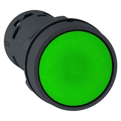 Кнопка управления ИЭК, SВ-7 Пуск зеленая 1з+1р d22мм/240В