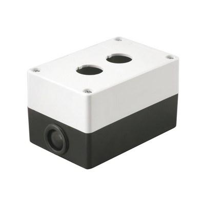 Корпус для кнопок ИЭК КП102 2места белый