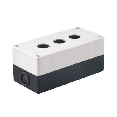 Корпус для кнопок ИЭК КП103 3места белый