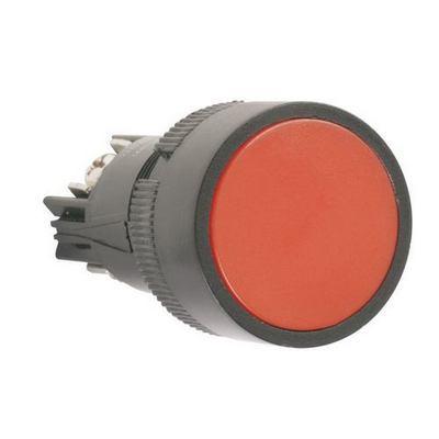 Кнопка управления ИЭК, SВ-7 Стоп красная 1з+1р d22мм/240В