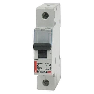 Автоматический выключатель Legrand DX C40А 1-полюсный 6000/6kA характеристика C
