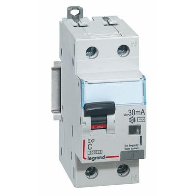 Дифференциальный автомат АВДТ DX3 1П+Н C16А 2-полюса 30MA-AC LEGRAND