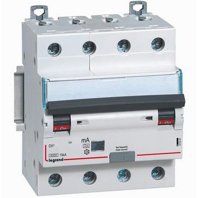 Дифференциальный автомат АВДТ DX3 4П C25А 4-полюса 30MA-AC LEGRAND