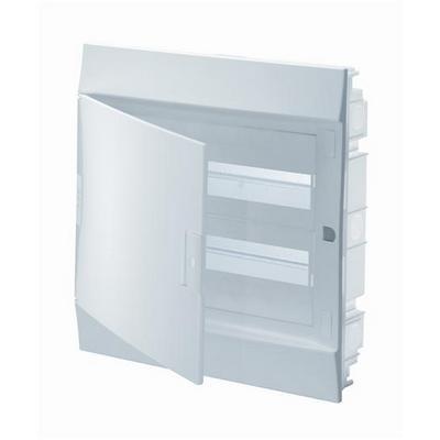 Бокс встраиваемый ABB Mistral41, 24-модуля, пластиковый, непрозрачная дверь, с клеммами