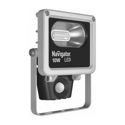 Прожектор светодиодный с датчиком движения NFL-M-10-4K-SNR-LED Navigator 71 320