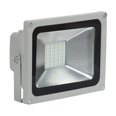 Прожектор светодиодный ИЭК (IEK) 10Вт СДО 05-10 серый SMD IP65