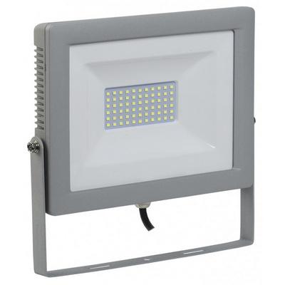 Прожектор светодиодный ИЭК (IEK) 10Вт СДО 07-10 серый IP65