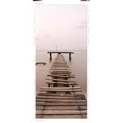 UZ642D Плёнка дизайнерская Деревянный мостик для UK600