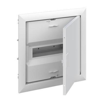 Шкаф ABB UK610V2RU, 12 модулей, встраиваемый монтаж, с винтовыми клеммами N/PE