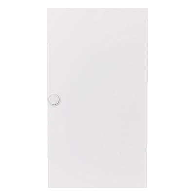 Дверь A368 стальная для щита ABB A312N2 (1 ряд-12 модулей) белая