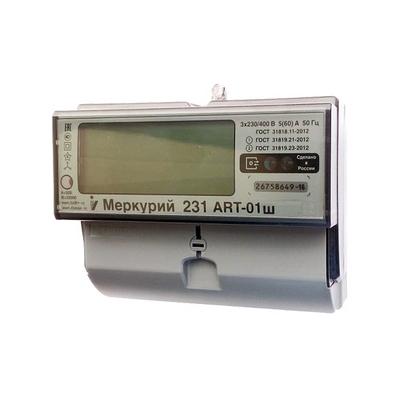 Электросчетчик Меркурий 231 ART-01 Ш, 3*230/400В, 5(60)А, многотарифный, трёхфазный