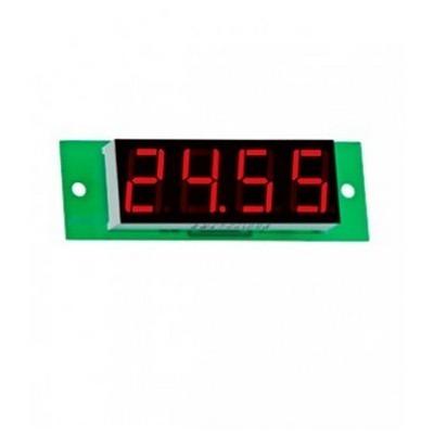 Вольтметр цифровой DigiTOP Вм-19/2 red, 3x230в, постоянного ток, без корпуса, трехфазный, 0-25,99B