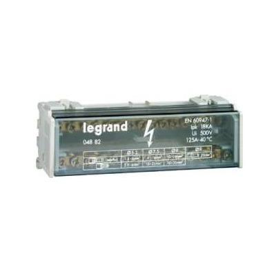 Распределительный блок кросс-модуль Legrand (2х13) 2-полюсный, 40 Ампер, 13 подключений