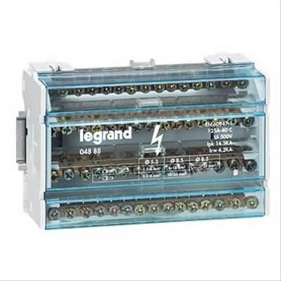 Распределительный блок кросс-модуль Legrand (4х15) 4-полюсный, 125 Ампер, 15 подключений