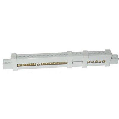 Клеммник N+PЕ в сборе на 8М для ESTETICA-UNIBOX-EUROPA IP40, 12М для EUROPA IP65, LUC 12 492