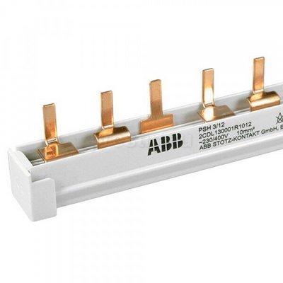 Шина соединительная ABB PSH3/12, 3-полюса, 12-модулей