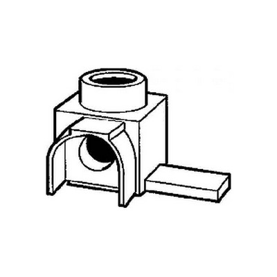 Переходник FEED IN 25/15 ABB, 1-полюс, для дифавтоматов
