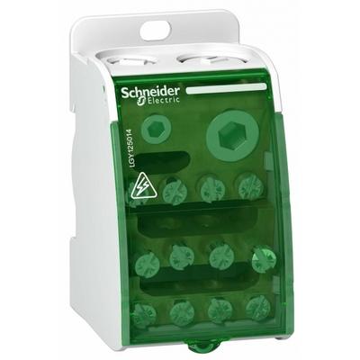 Распределительный блок Schneider Electric 1х14, 1-полюсный, 250 Ампер, 14 отверстий