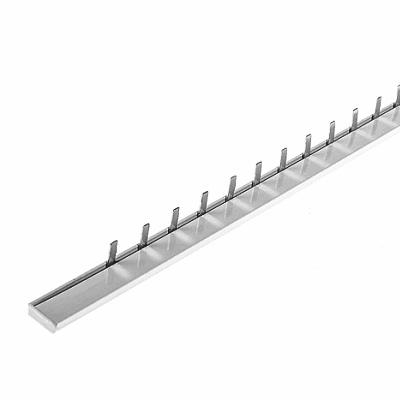 Шина соединительная ИЭК PIN, 12 штырей, 1-полюс, 63 Ампера, длина 22 см