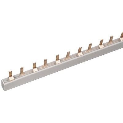 Шина соединительная ИЭК PIN, штырь, 2-полюса, 63 Ампера, длина 1м,