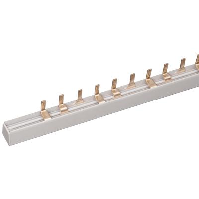 Шина соединительная ИЭК PIN, 12 штырей, 3-полюса, 63 Ампера, длина 22 см