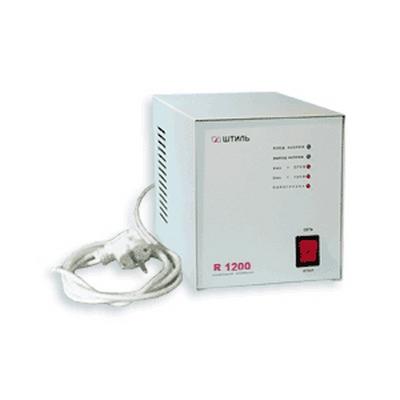 Стабилизатор напряжения Штиль R-1200 электронный 1200ВА, Uвх=165-265В Uвых=205-235В