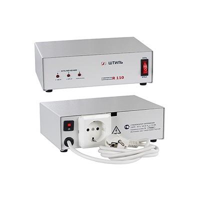 Стабилизатор напряжения Штиль R-110 электронный 110ВА, Uвх=165-265В Uвых=205-235В