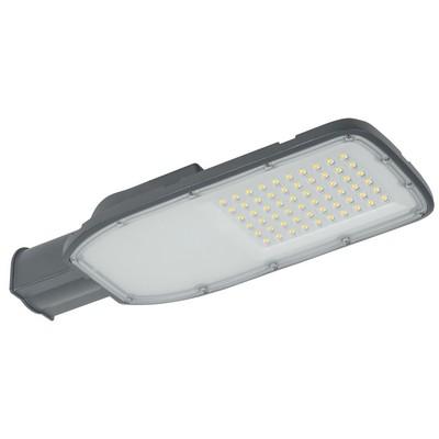 Светильник светодиодный уличный LED ДКУ 1002, 100Вт, 5000К, IP65, серый, на столб