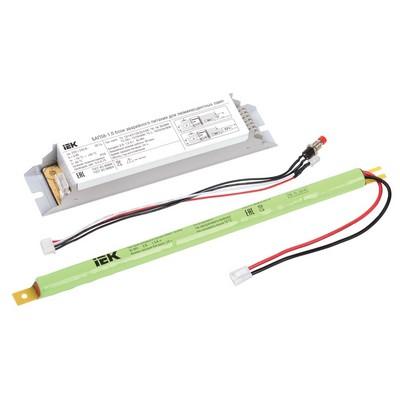 Блок аварийного питания ИЭК БАП58-1,0 для люминесцентных ламп ЛЛ и КЛЛ (58W) IP20 (1час)
