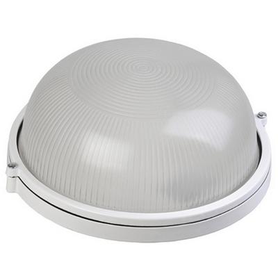 Светильник ИЭК ЖКХ НПП1101, белый, круг, 100Вт IP54