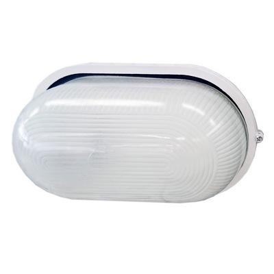 Светильник ИЭК ЖКХ НПП1201, белый, овал, 100Вт IP54