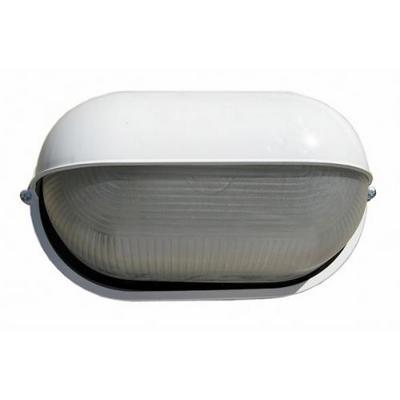 Светильник ИЭК ЖКХ НПП1403, белый, овал полусфера, 60Вт IP54