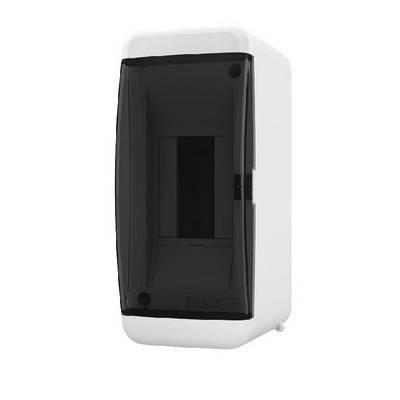 Щит навесной Tekfor, 2 модуля, IP41, непрозрачная черная дверца UNB 40-02-2