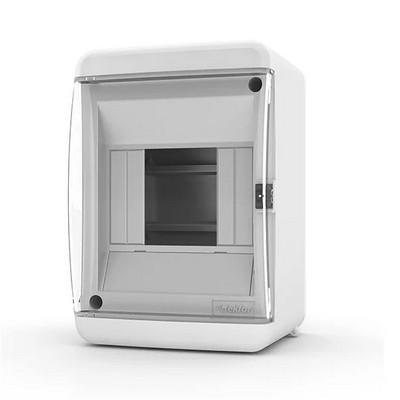 Щит навесной Tekfor, 4 модуля, IP41, прозрачная дверца UNC 40-04-2