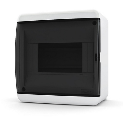 Щит навесной Tekfor, 6 модуля, IP41, непрозрачная черная дверца UNB 40-06-2