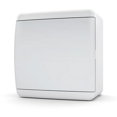 Щит навесной Tekfor, 6 модуля, IP41, непрозрачная белая дверца UNN 40-06-2