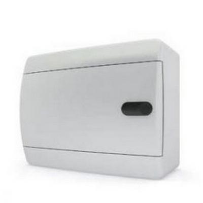 Щит навесной Tekfor 6 модулей IP41, непрозрачная белая дверца серии С